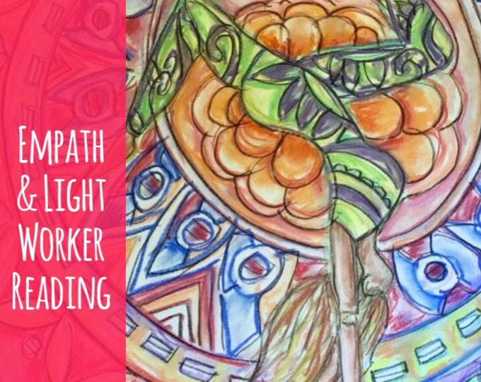 Empath & Light Worker Reading- Intuitive Abilities, Angels, spirit guides, 15-45 Min Voice Recording Sent to Email