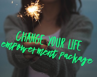 Change Your Life Empowerment Psychic Training- 3 Month or 6 Month Package