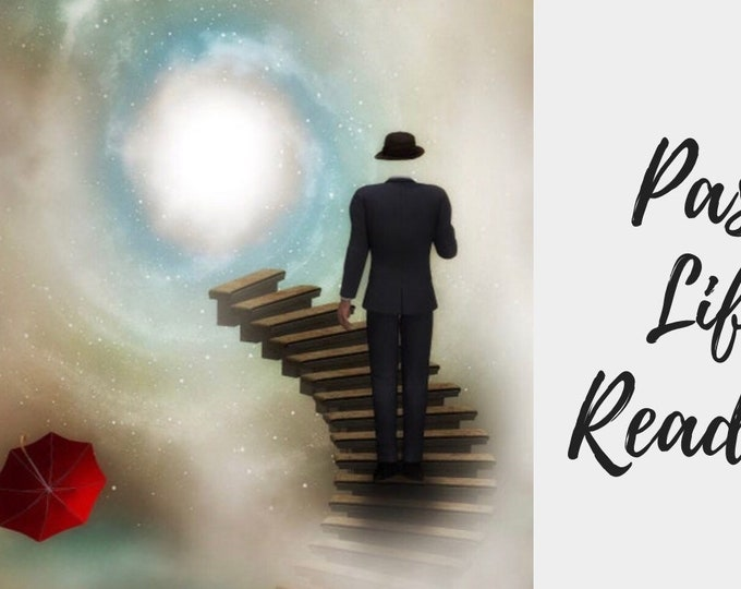 Featured listing image: Past Life Reading -15-45 Min Voice Recorded, angel reading, spirit guides