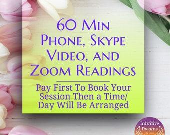Phone or Skype Readings