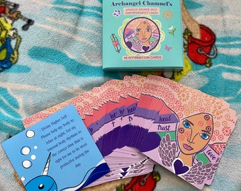Oracle Cards,Angelic Higher Self Empowerment with Archangel Chamuel,  Angel Reading, Psychic Reading, Affirmations ,Tarot Deck