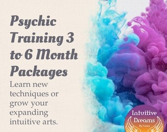 Change Your Life Psychic Training- 3 Month or 6 Month Package,  Angel reading, love reading, medium, empath, Akashic Records, past life
