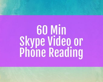 Phone or Skype Readings