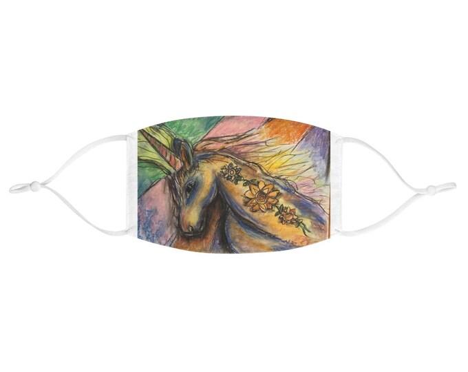 Featured listing image: Fabric Face Mask Original Art