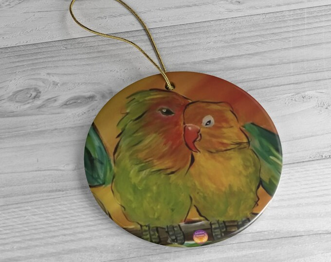 Featured listing image: A Bushel and a Peck Ceramic Ornaments