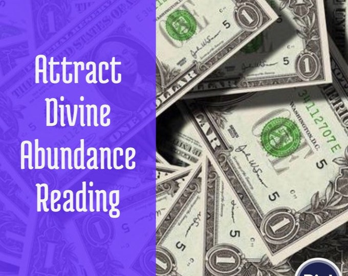 Abundance Reading 15-45 Min Voice Recording