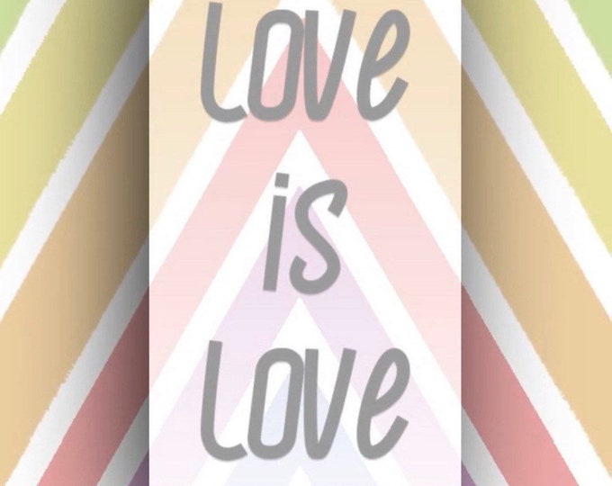 Love is Love Reading Voice Recording 15-45 Minutes Your Choice