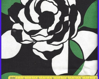 IMPERIAL ROSE Vera Bradley Cotton Fabric, Retired Winter 2016, Quilting, Purses, Totes, 19 x 60 inches, Coin Bag, Bold Floral, Doll  Clothes