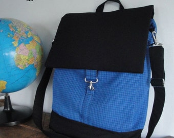 Customizable Convertibil Backpack - laptop COMPARTMENT - Fully Padded - Water Resistant lining