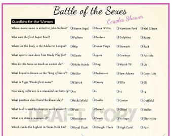 Battle of the sexes questions pics 56