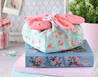 Flower Power Pouch PDF Sewing Pattern