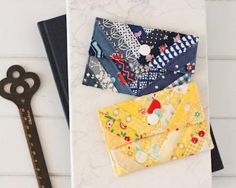 Zakka Card Wallet PDF Sewing Pattern