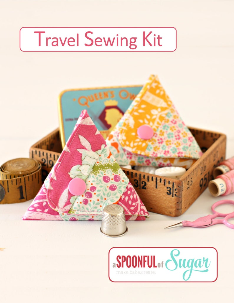 Travel Sewing Kit PDF Sewing Pattern image 0
