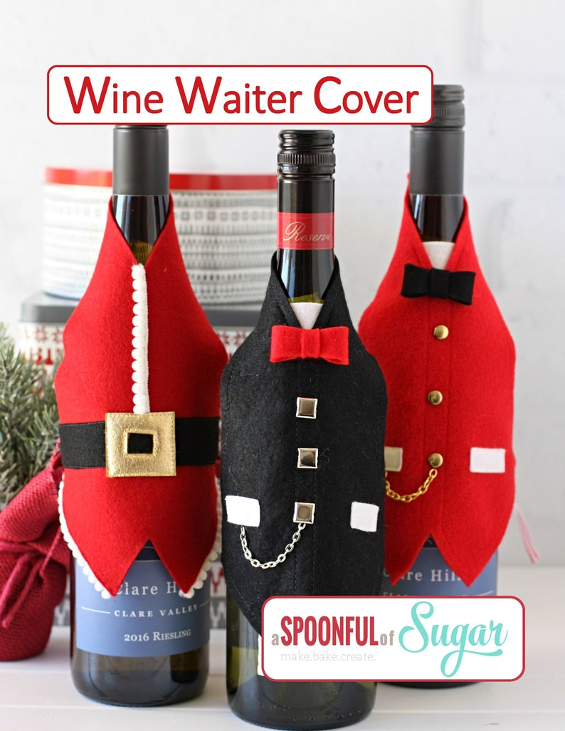 Wine Waiter Cover PDF Sewing Pattern image 0