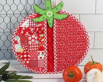 Tomato Pot Holder PDF Sewing Pattern