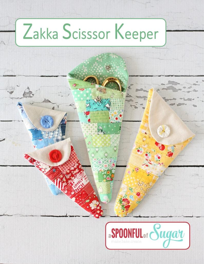 Zakka Scissor Keeper PDF Sewing Pattern image 0