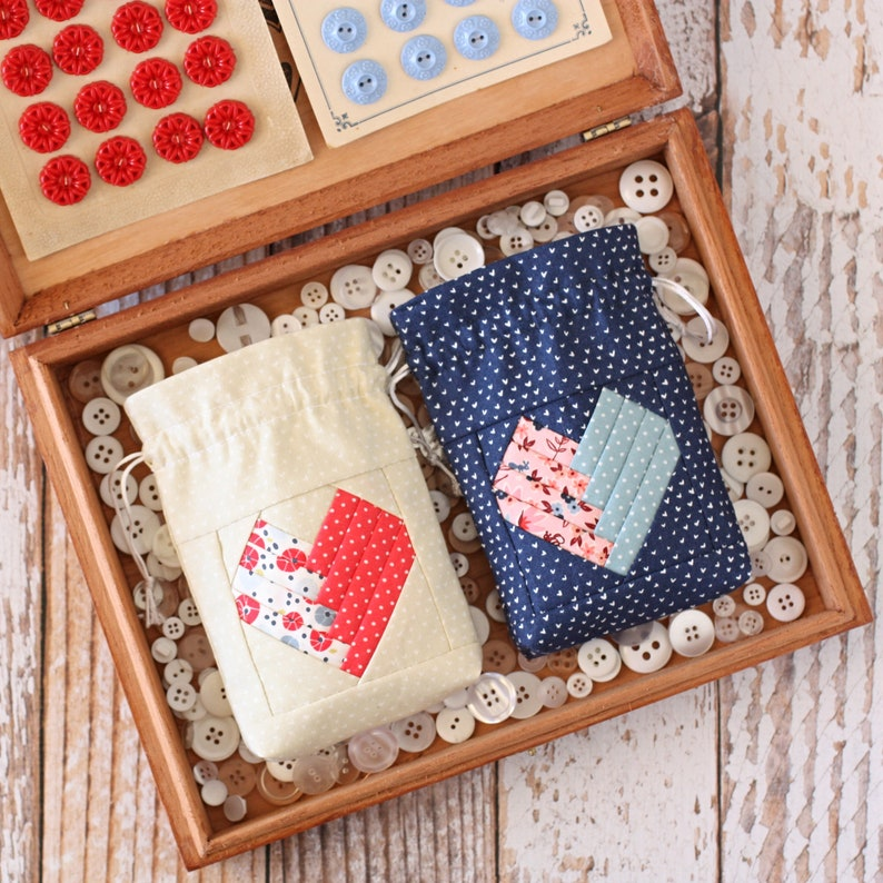 Gifted With Love Pouch PDF Sewing Pattern image 3