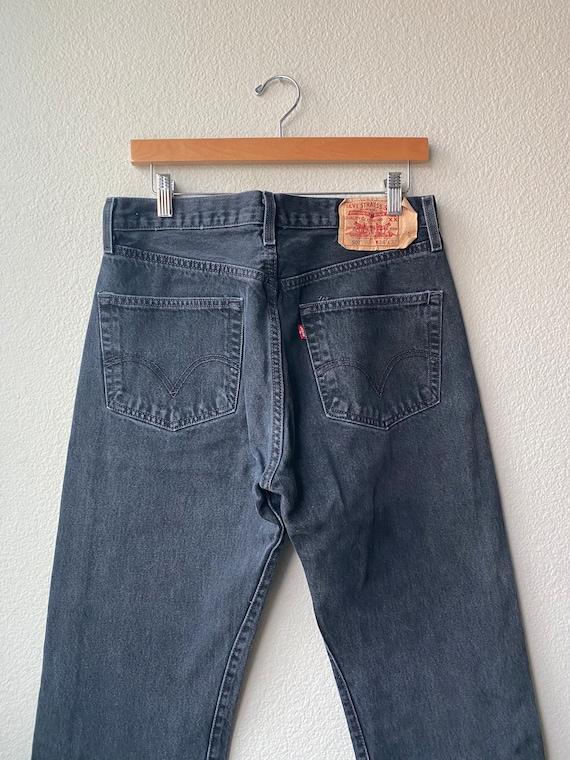 Vintage Levi's Black 501 Jeans