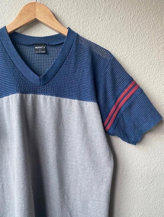 Vintage Mesh Athletic T-Shirt - image 3