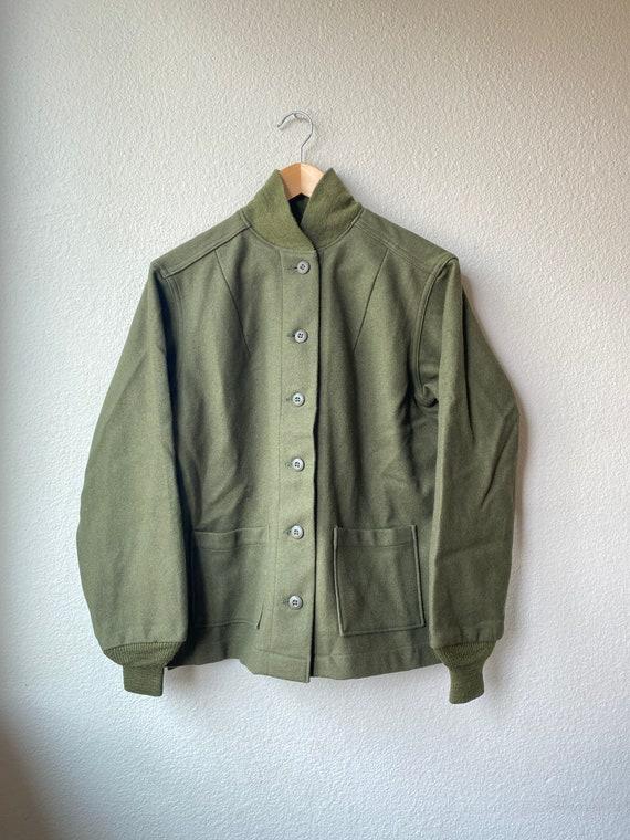 Vintage Women's Wool Field Jacket