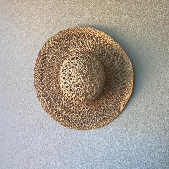 Vintage Natural Straw Hat