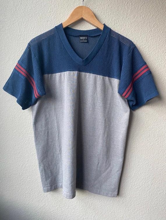 Vintage Mesh Athletic T-Shirt - image 1