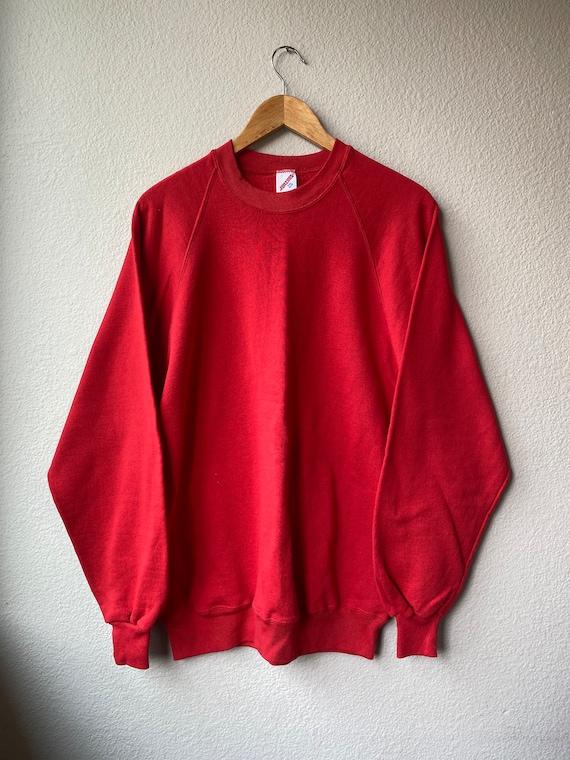 Vintage JERZEES Raglan Sweatshirt