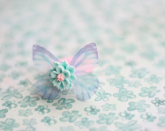 Statement Ring, Nature Inspired, Butterfly, Gift For Kids, Butterfly Wings, Butterfly Ring