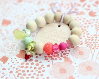 Kids Bracelet, Tutti Fruity, Tutti Fruity Party, Beaded Bracelet, Gift For Kids