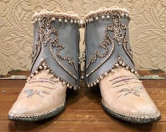 9c2a485e55457 Vintage baby cowboy boots | Etsy