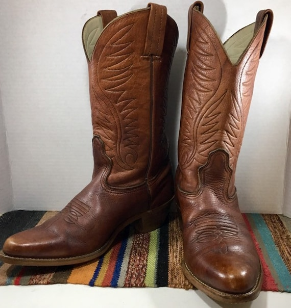 Brown Dexter Cowboy Boots mens size 10
