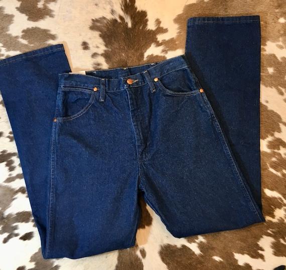 NOS Vintage Wrangler Straight Leg Slim Fit Cowboy Cut size 11x32