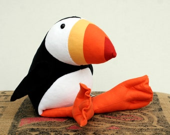 RtS Puffin Plush Birdie, Ready-to-Ship Cuddly Puffin Soft Toy