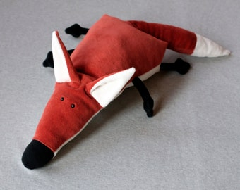 Ponca Fox, Little Foxy Plush, Soft Fox Toy, Funny Plush Red Fox