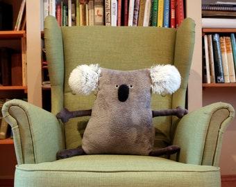 Big Koala Pillow Muma, Maxi-Muma Cushion Koala, Soft Koala Toy, Comfortable Koala, Comfy Plush Pillow