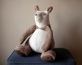 Big Panda, Soft Brown Plush Big Bear, Teddy Bear, Cuddly Plush