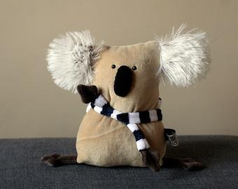 RtS Muma Long Arm Koala Plushie, Little Pocket Koala Stuffie Toy Ready to Ship, Funny Marsupial Pocket Plush