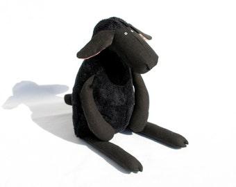 Stuffed All Black Sheep