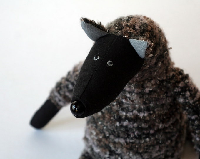 Grey Wolf, stuffed animal toy for children