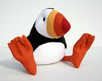 Puffin Plush Birdie, Cuddly Puffin Soft Toy