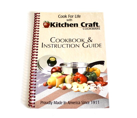 KitchenCraft Cookware Instruction Manual Recipe Booklet Kitchen Craft Pots  & Pans Owner\'s Manual