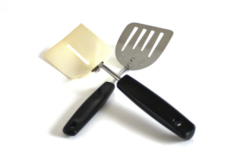 1 SPATULA FOLEY LARGE Vintage Stainless CURVED One