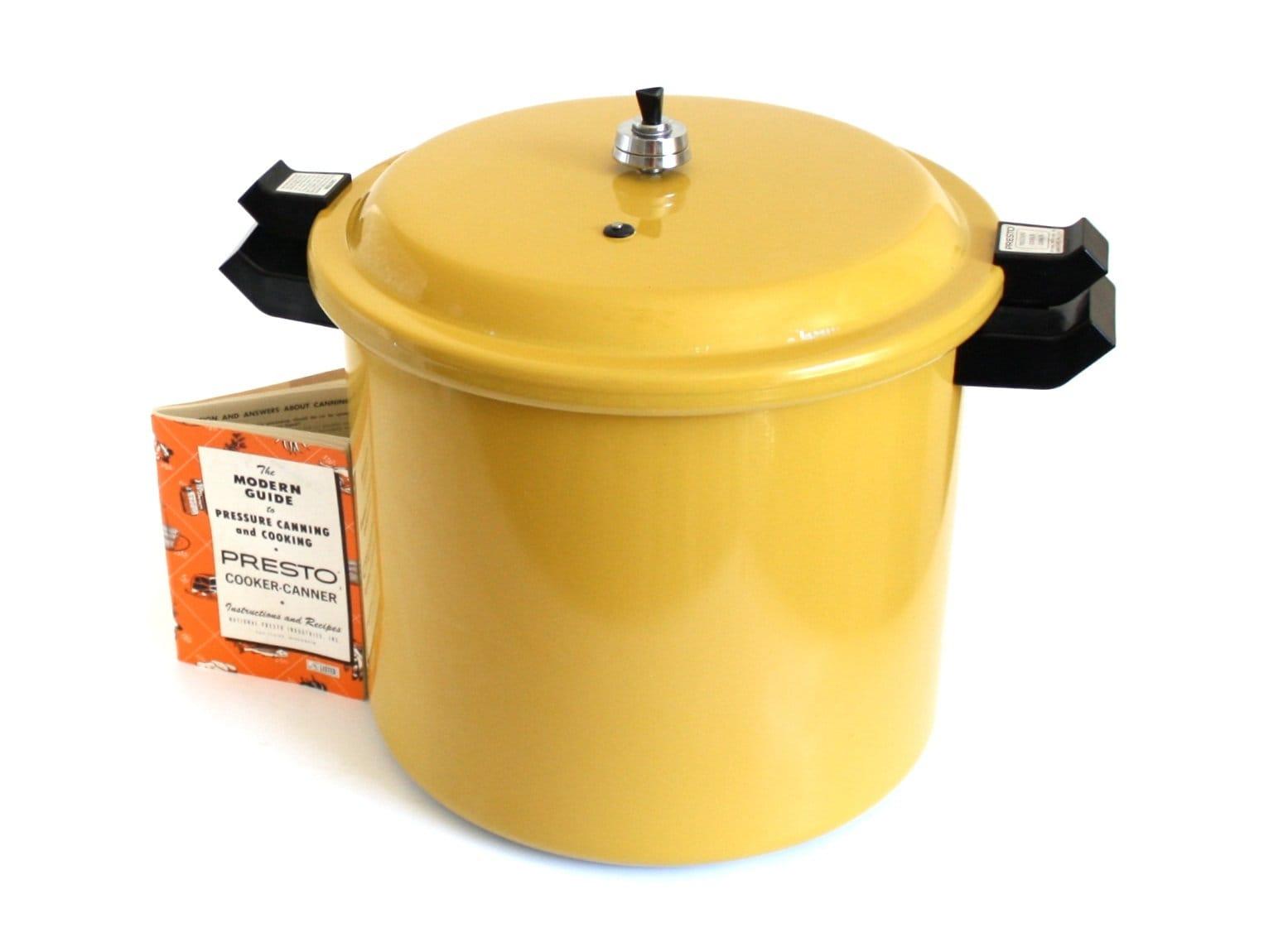 Presto Pressure Canner Large 20 Quart Size Holds Half Gallon