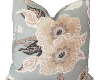 Fiori Gray designer pillow covers Made