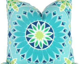 Trina Turk Decorative Pillow Cover LA Soleil Designer Indoor Outdoor, Schumacher, 18x18, 20x20,22x22, Throw pillow, Toss pillow, pool pillow