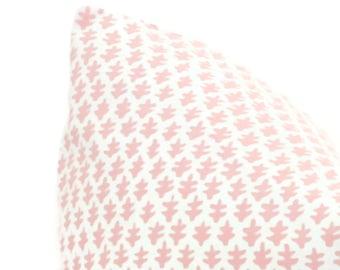 Sister Parish Burmese in Soft Pink Decorative Pillow Cover, 20x20 22x22 Eurosham, Lumbar pillow Toss Pillow, Accent Pillow, Throw Pillow