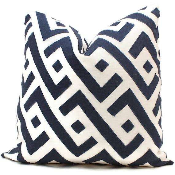 Blue Safari Decorative Pillow Cover Square Eurosham Or Lumbar Etsy Delectable Safari Decorative Pillows
