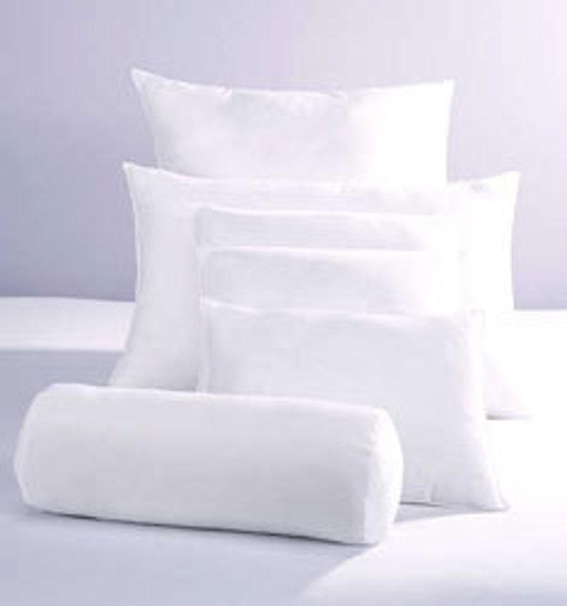 10/90 Down Feather Pillow Insert  Choose your size Square image 0