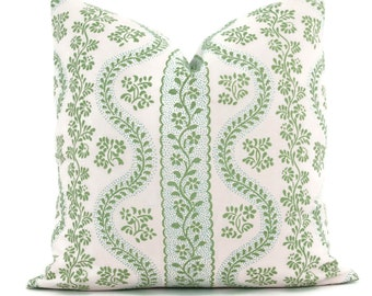 Decorative Pillow Cover Sister Parish Dolly in Lettuce Green Pillow cover,  Toss Pillow, Accent Pillow, Throw Pillow, Lettuce Green