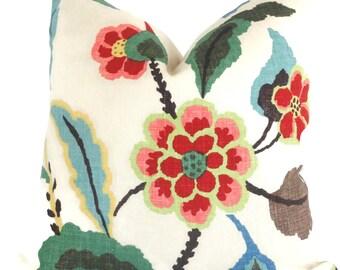 Khantau arbre décoratif oreiller housses Schumacher oreiller 18 x 18, 20 x 20, 22 x 22, 14 x 20 ou 10 x 20, touiller coussin oreiller accent coussin lombaire